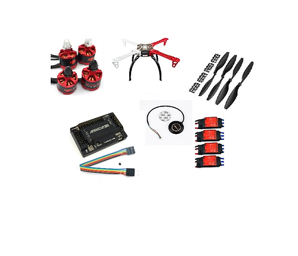 quadcopter F450mm apm 2.8 gps m8n with motor esc