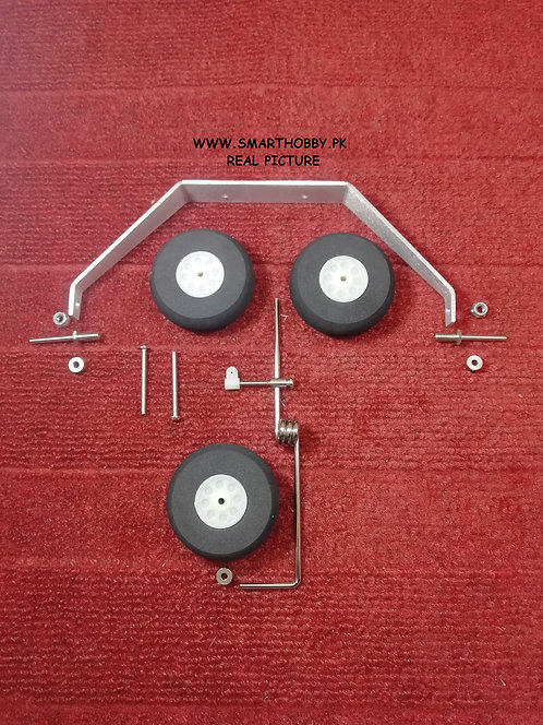 Tricycle Landing Gear Steering move able nose wheel