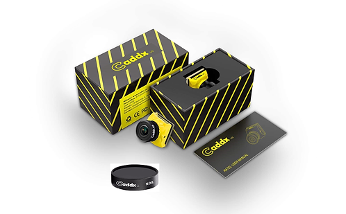 Caddx Ratel  Starlight HDR OSD 1200TVL with ND8 filter fpv camera