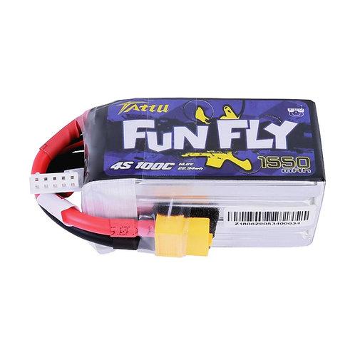 4s100c 1550mah Gensace tattu funfly