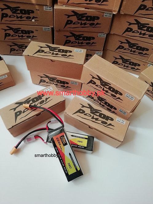 3s 11.1v 2200mah 30c zop power lipo battery
