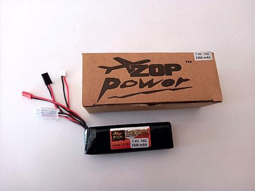 2s 3300mah 7.4v  10c zop power transmitter pack