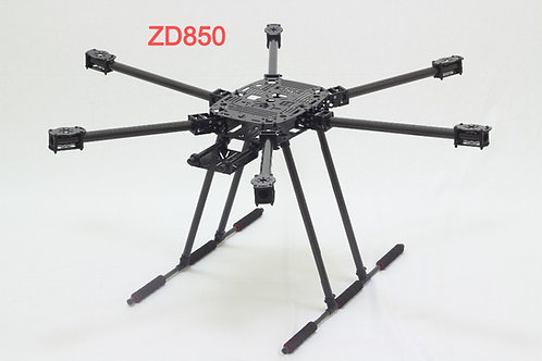 ZD 850mm Hexacopter carbonfiber