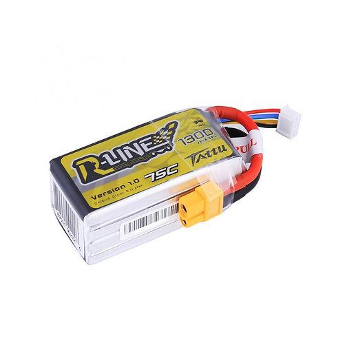 Gensace TATTU R-line 1300mAh 4s 75c Lipo Battery