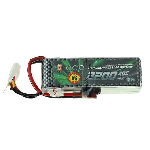 Gensace 3s 11.1v 2200mah 40c lipo battery