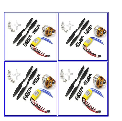 XXD 2212 1000kv 4 motor 4 ESC 30amp  with 8 props