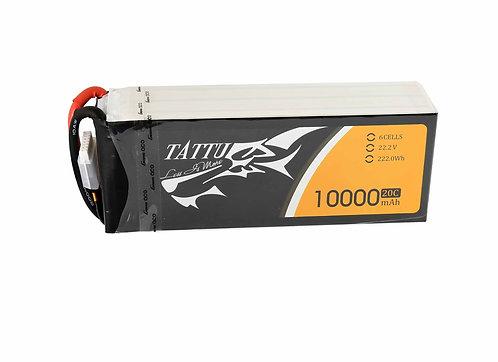 Gensace TATTU LIPO Battery For 10000mah 6S 22.2V 20C