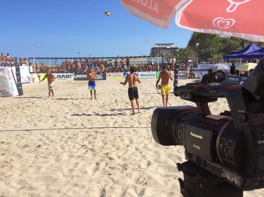 regia video beach volley