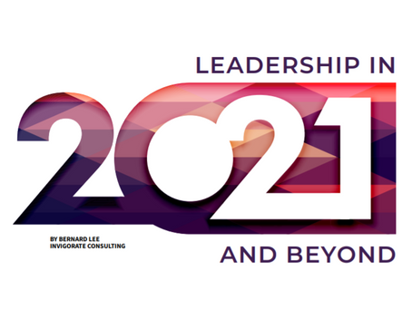 Leadership in 2021 and Beyond