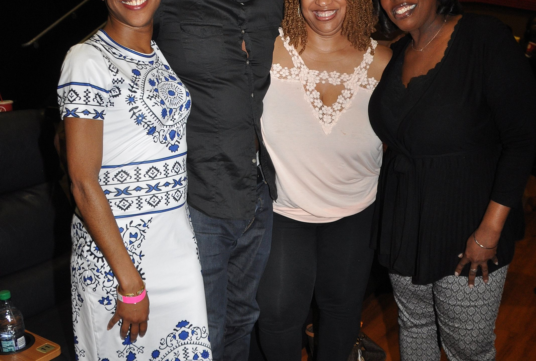 Harold Perrineau with family and friends - ClawsDC