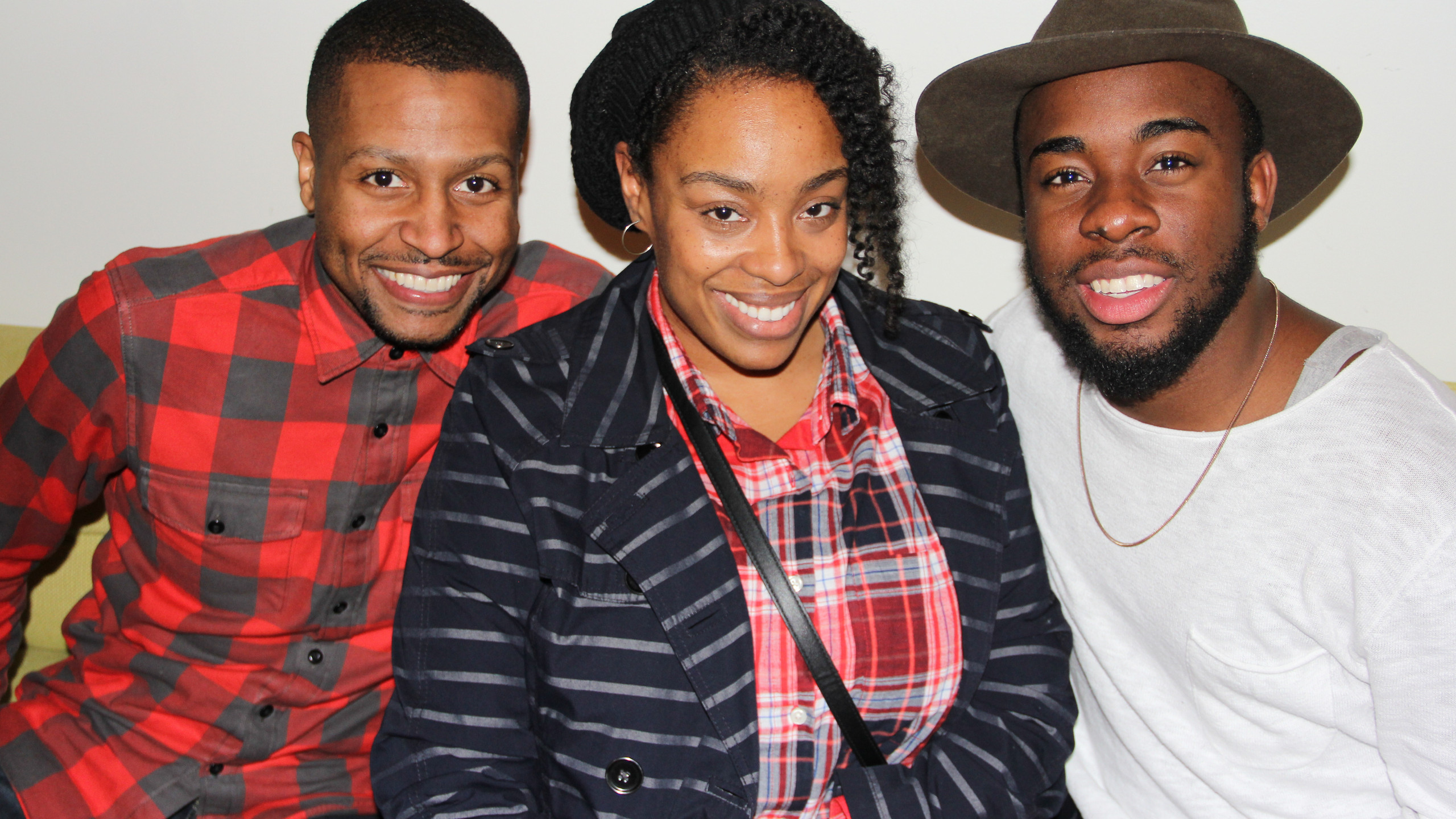 Tamone Bacon, Guest and Justin T of RCA Inspiration