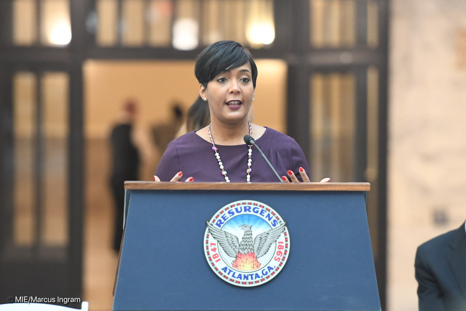 Atlanta Mayor Keisha Lance Bottoms - SBG