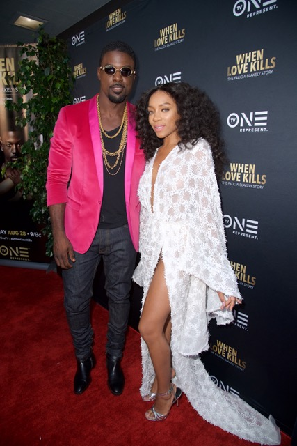 Lance Gross and Lil Mama