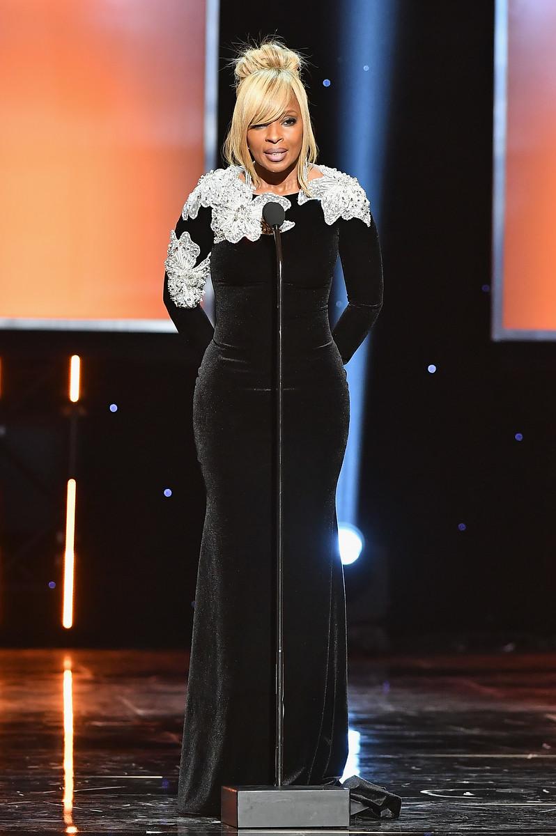 Mary J. Blige speaks onstage 2