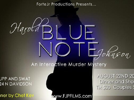 Harold BlueNote Murder Mystery