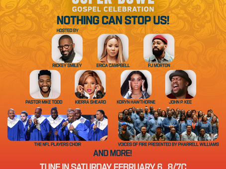 Rickey Smiley and John P. Kee on the 22nd Annual Super Bowl Gospel Celebration