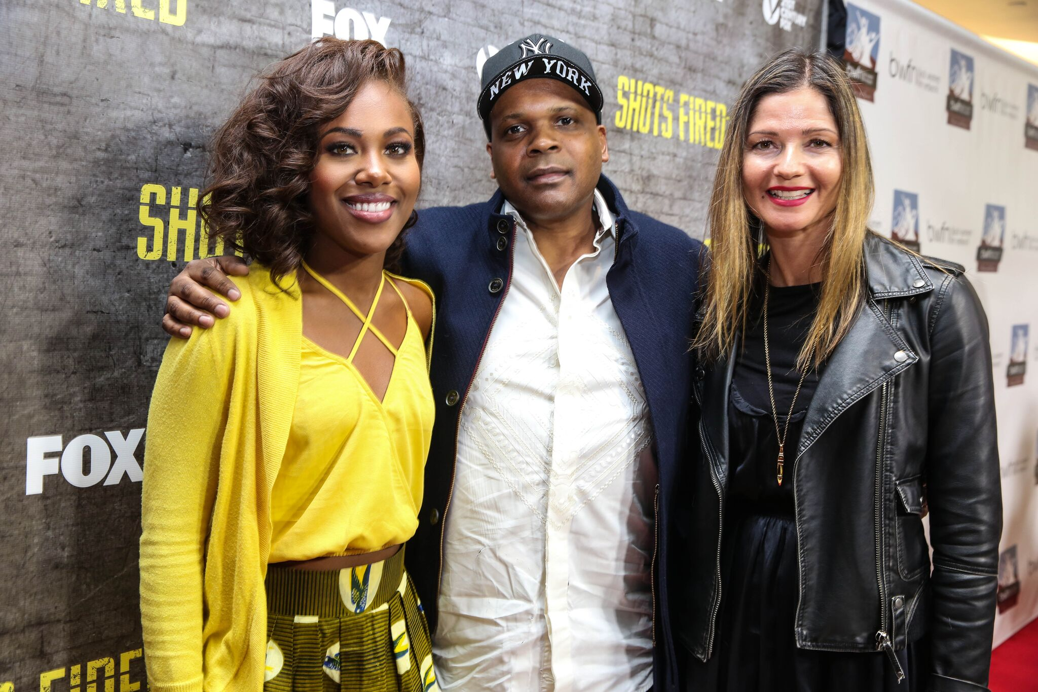 Dewanda Wise, Reggie Bythewood and Jill Hennessy