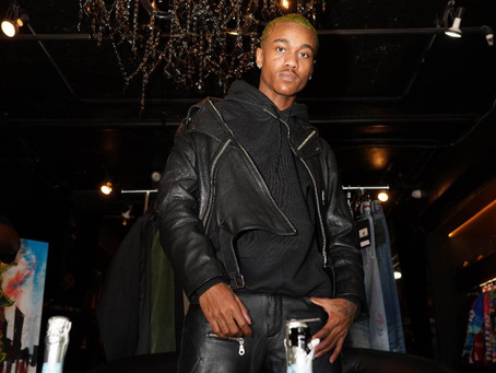 "RAPPERS G HERBO & COCA VANGO SUPPORT RISING CLOTHING DESIGNER ""X"" IN NEW Fashion LINE ""LABEL X"""