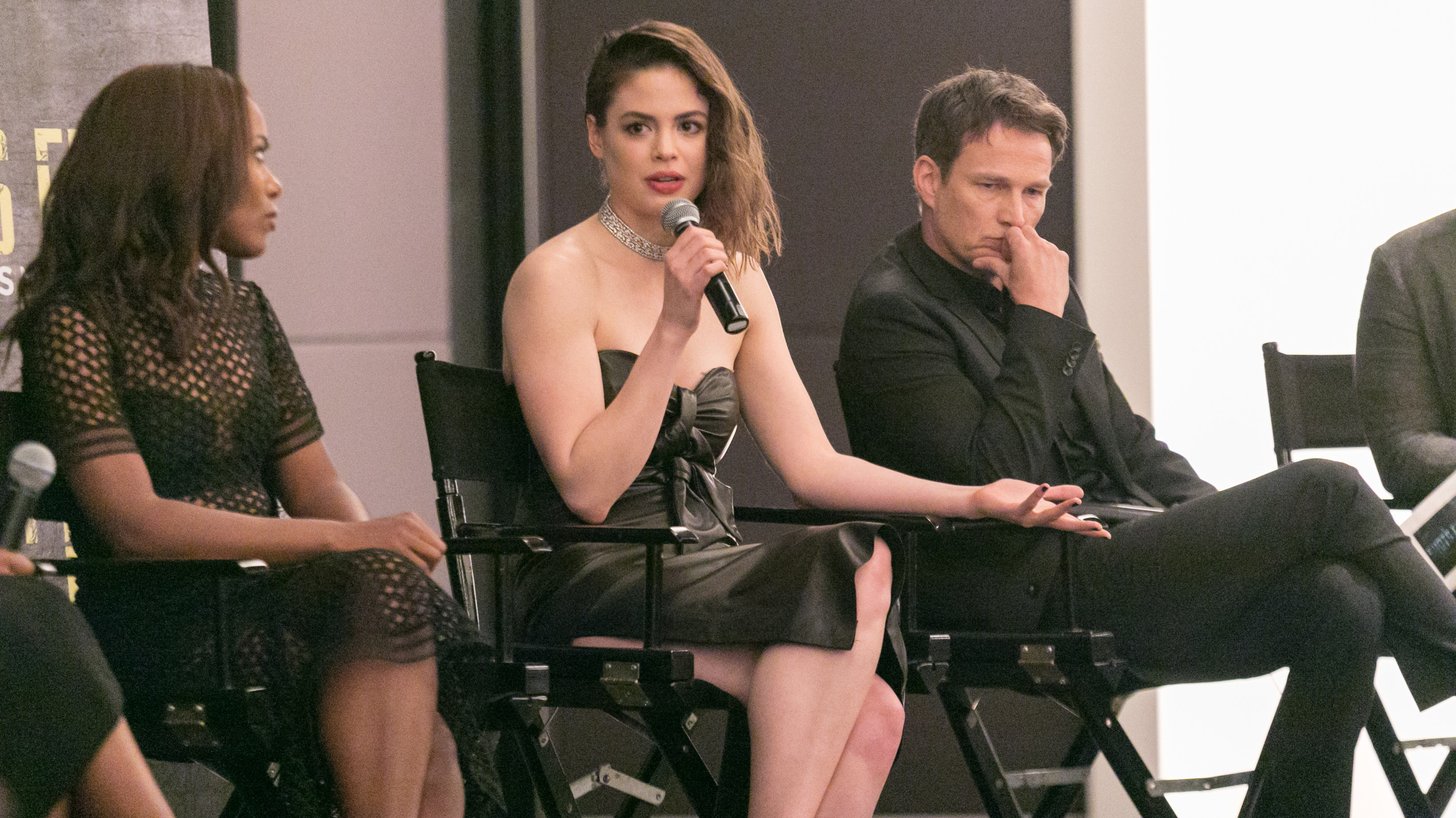 Conor Leslie during Q&A