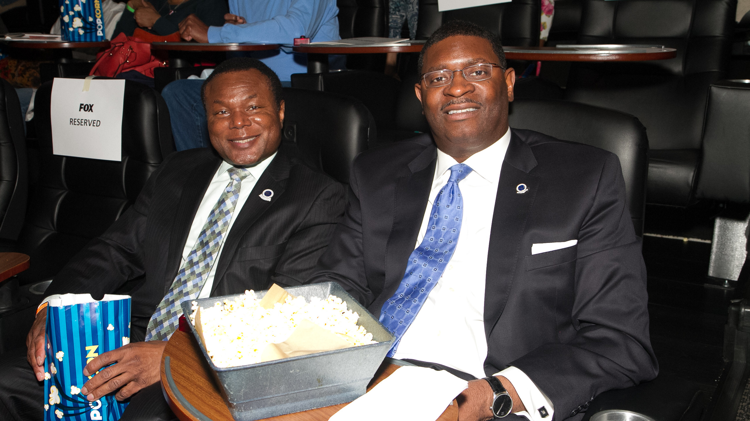 Perry Tarrant and Dwayne Crawford from National Organization of Black Law Enforcement Executives