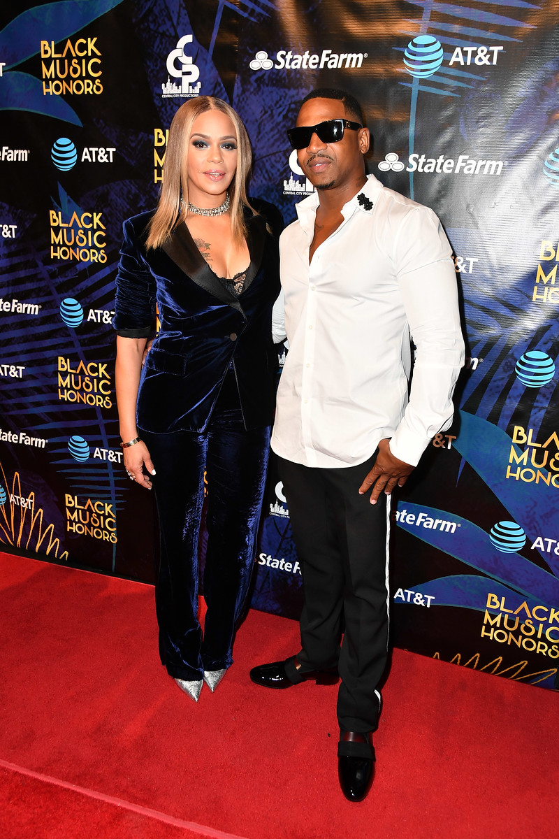 Faith Evans and Stevie J - 2