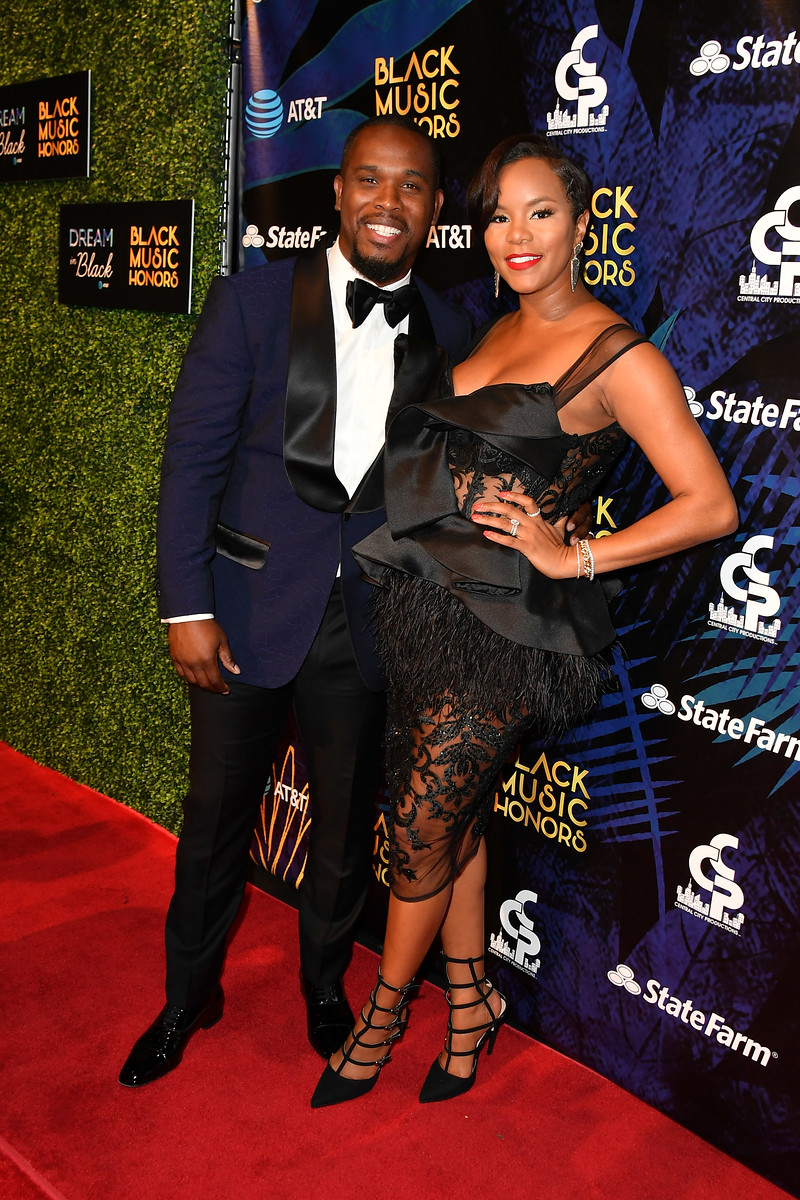 Tommicus Walker and LeToya Luckett