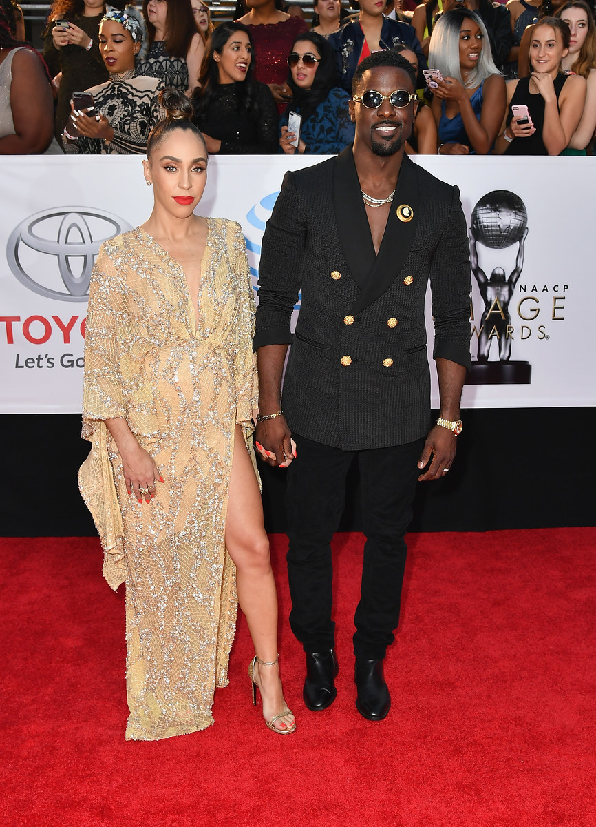 Lance Gross and wife