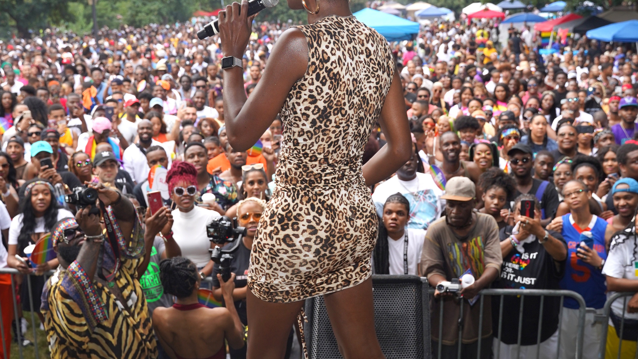 Angelica Ross on stage