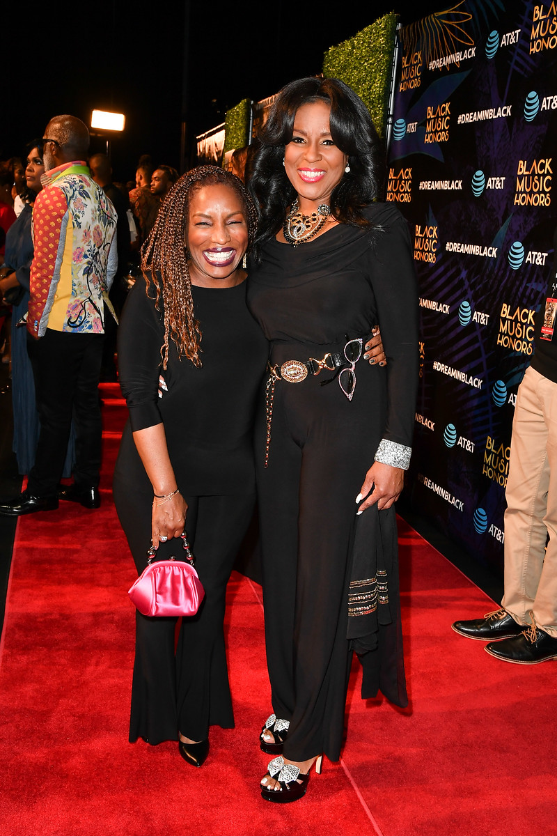Stephanie Mills and Angela Winbush