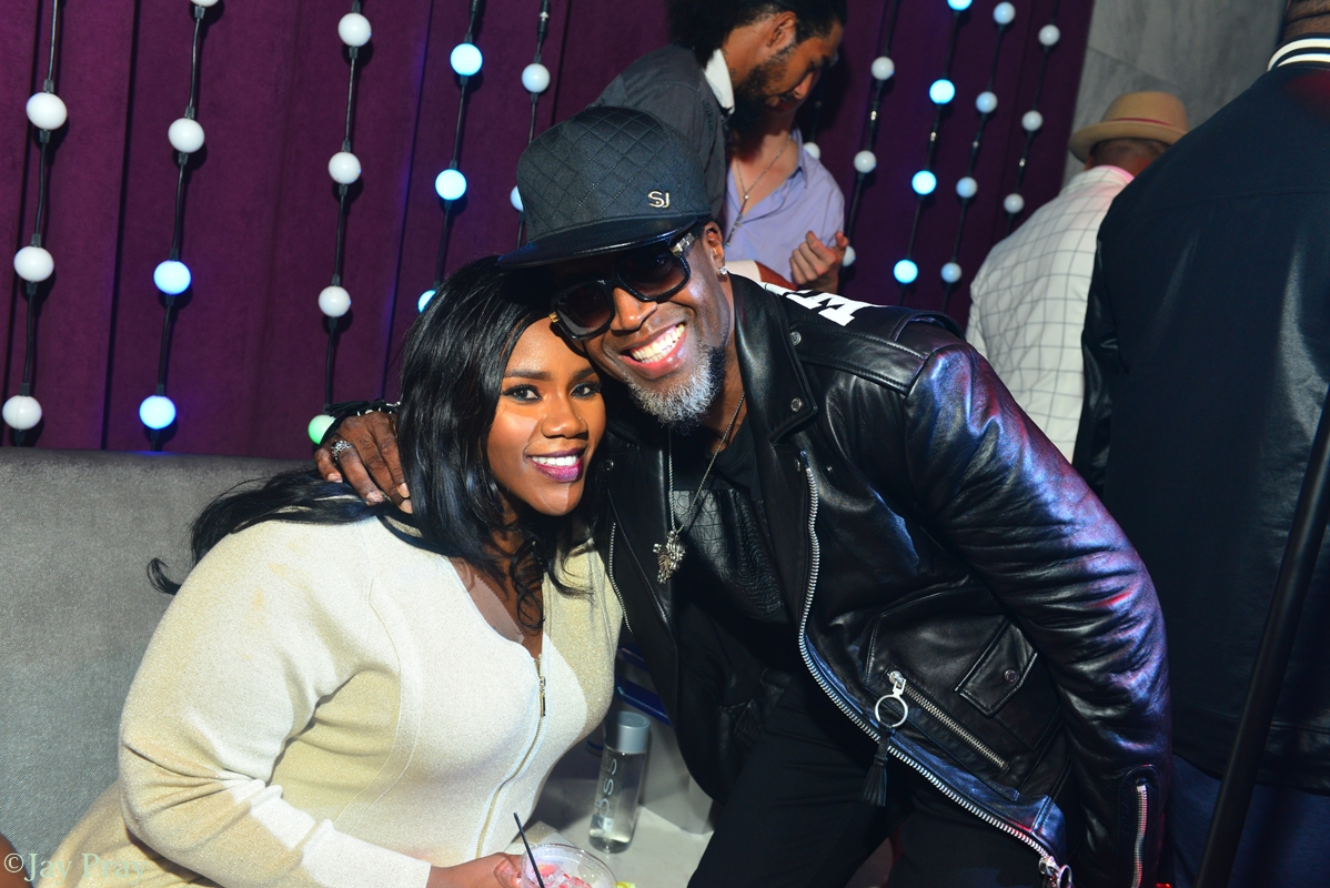 Kelly Price and Damion Hall