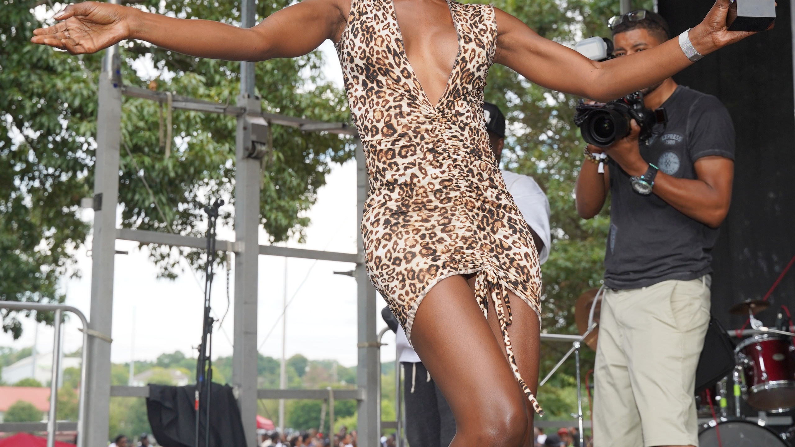 Angelica Ross performs