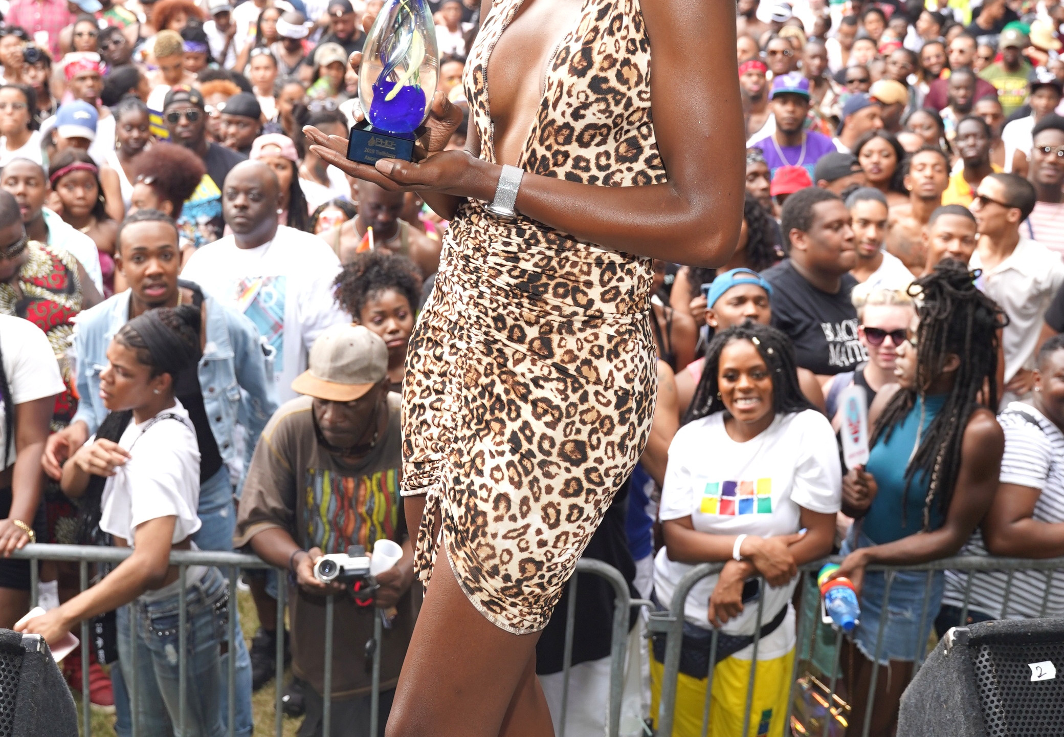 Angelica Ross accepts award 2