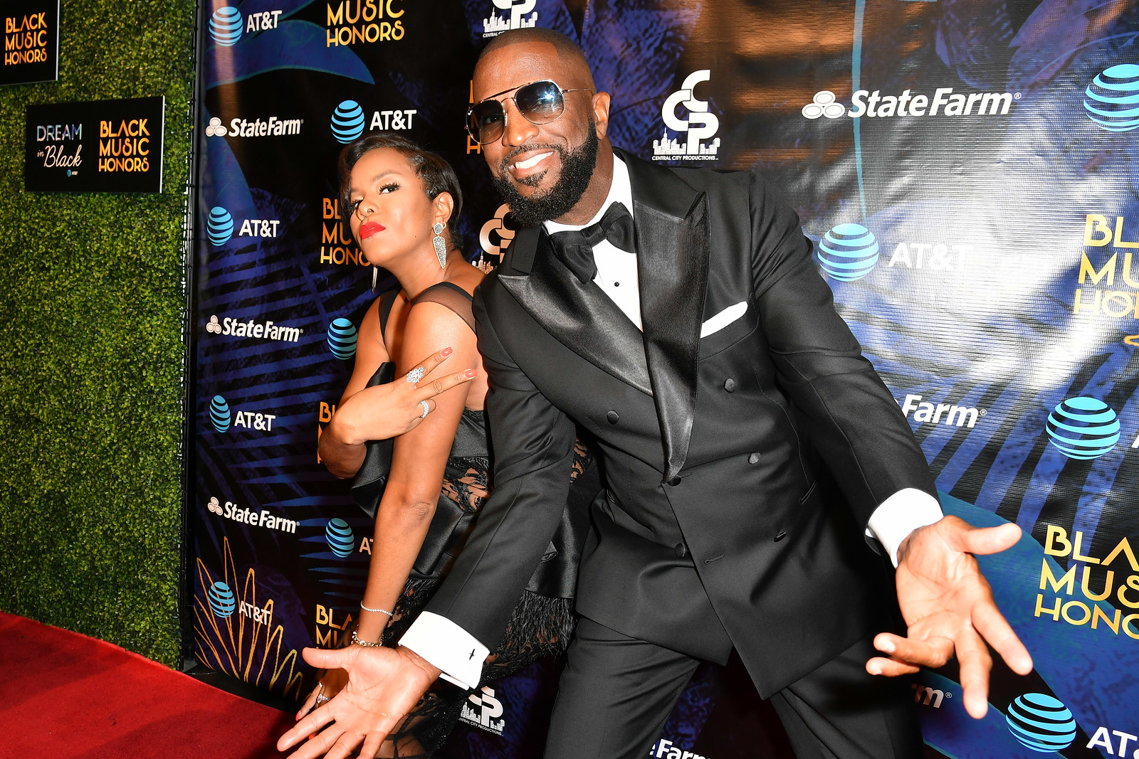 LeToya Luckett and Rickey Smiley - 2