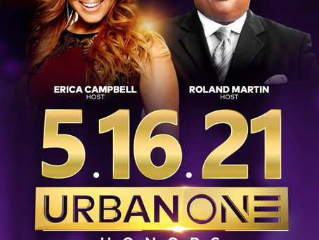 Erica Campbell & Roland Martin to Host URBAN ONE HONORS