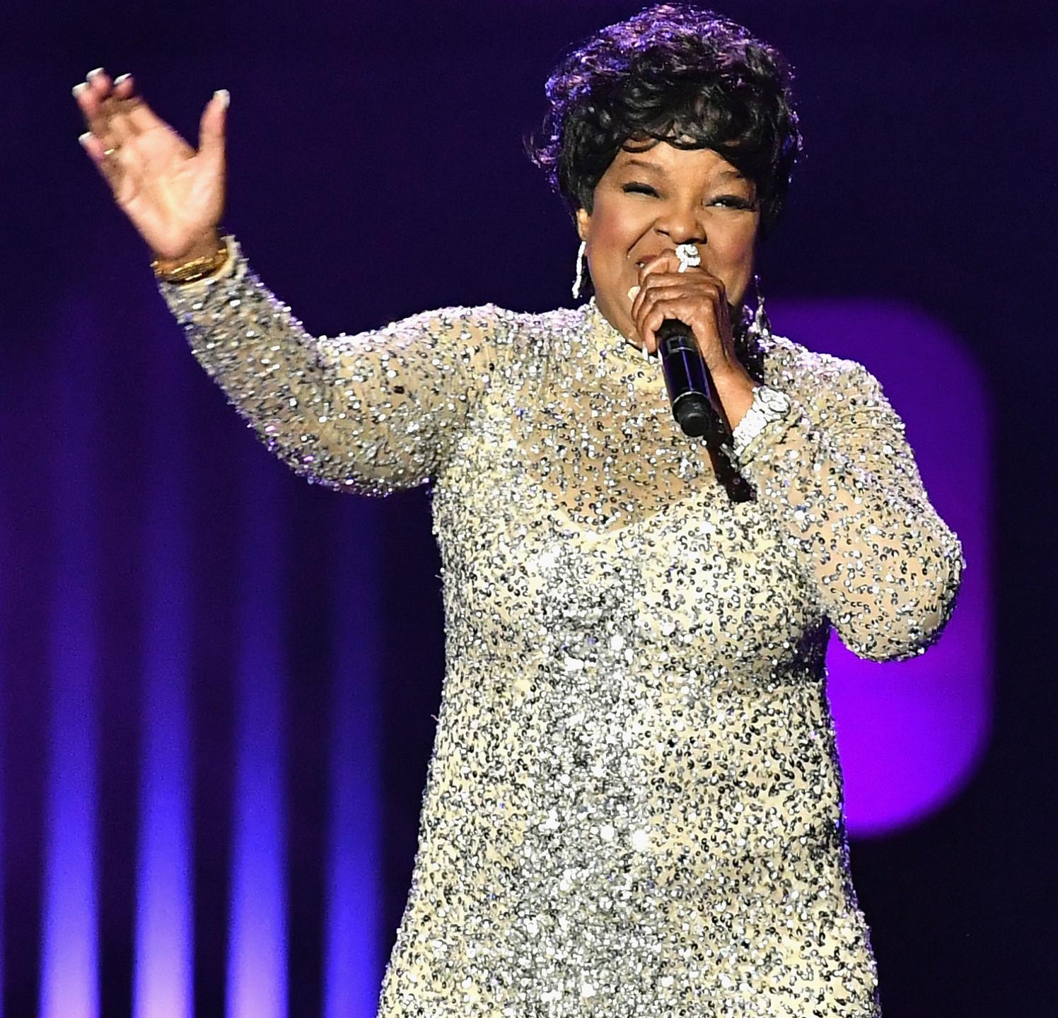 Shirley Caesar sings