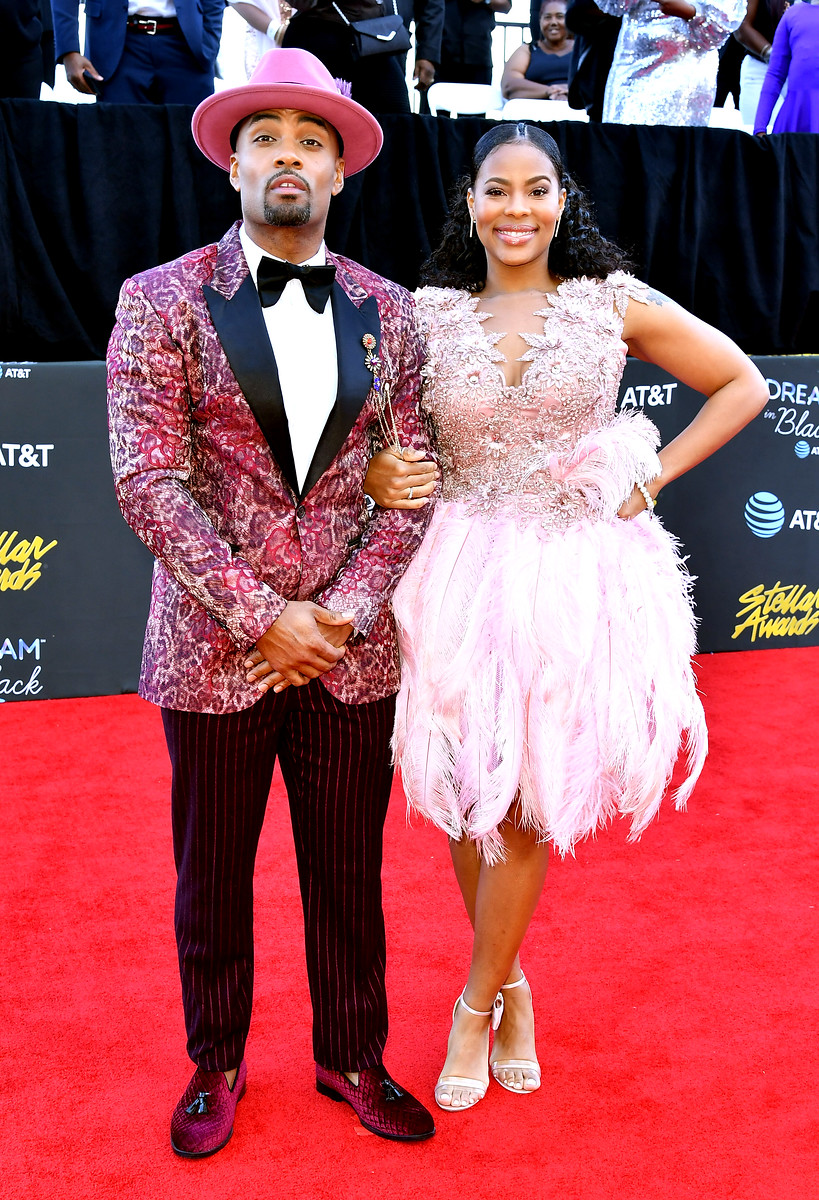 Willie Moore Jr and wife