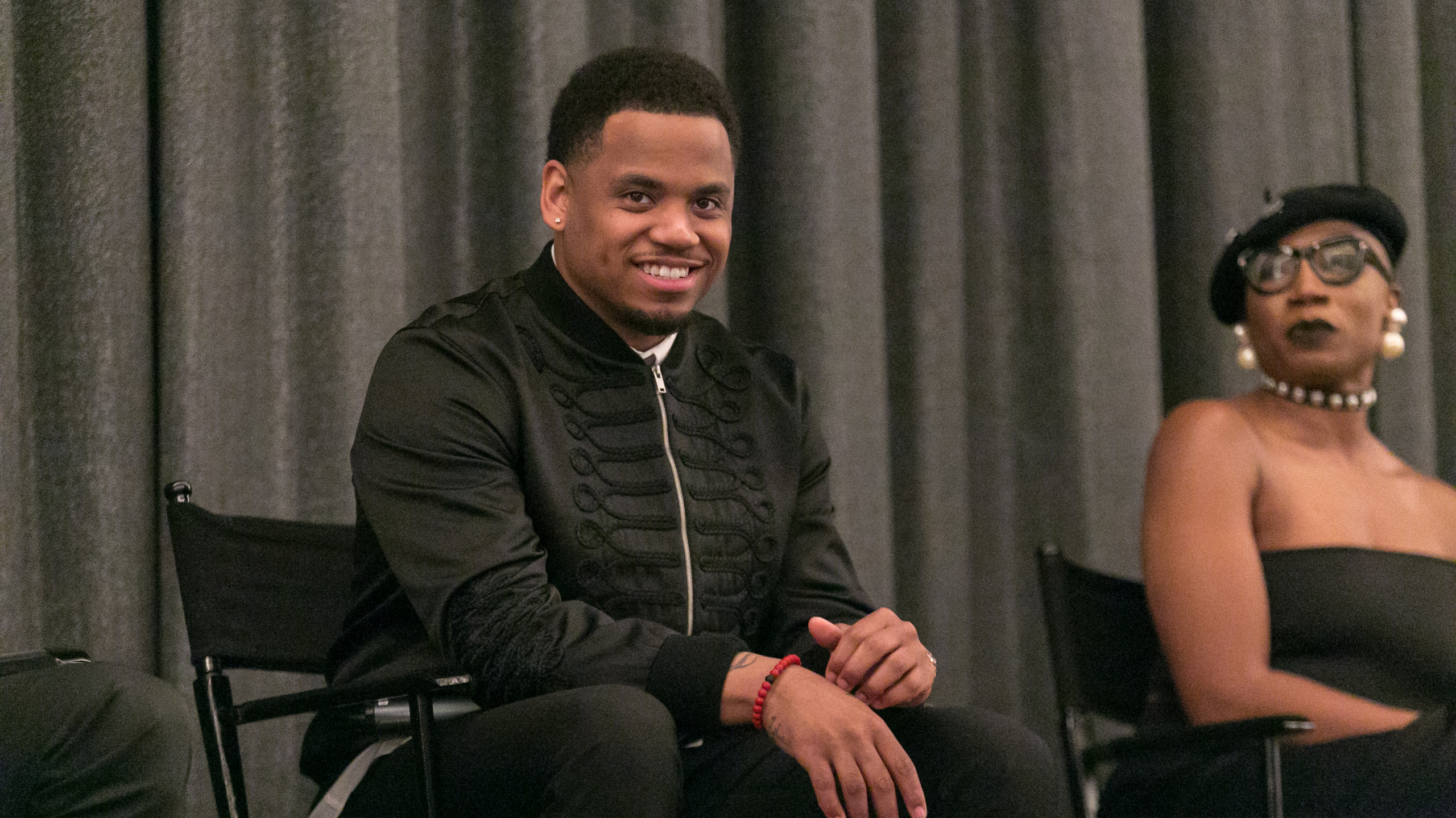 Mack Wilds during Q&A