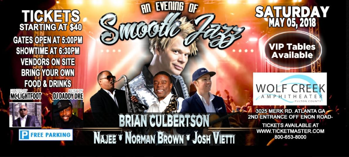 An Evening of Smooth Jazz - May 5, 2018