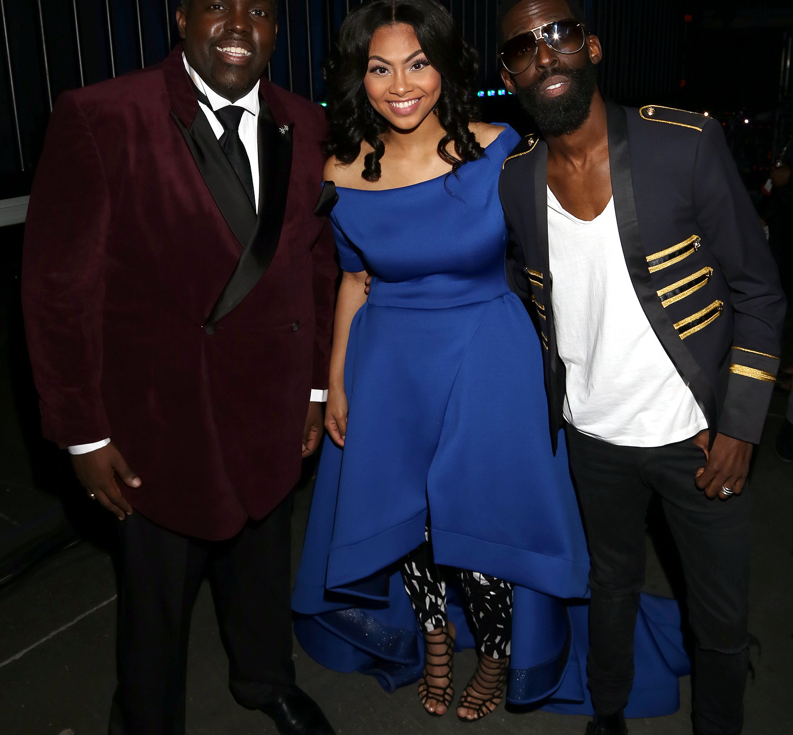 William McDowell with Bri and Tye Tribbett by Arnold Turner