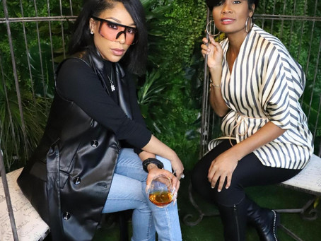 "VIP's, INFLUENCERS & FANS GATHER FOR K. MICHELLE & SHEMA FULTON'S ""PUFF MEETS P"