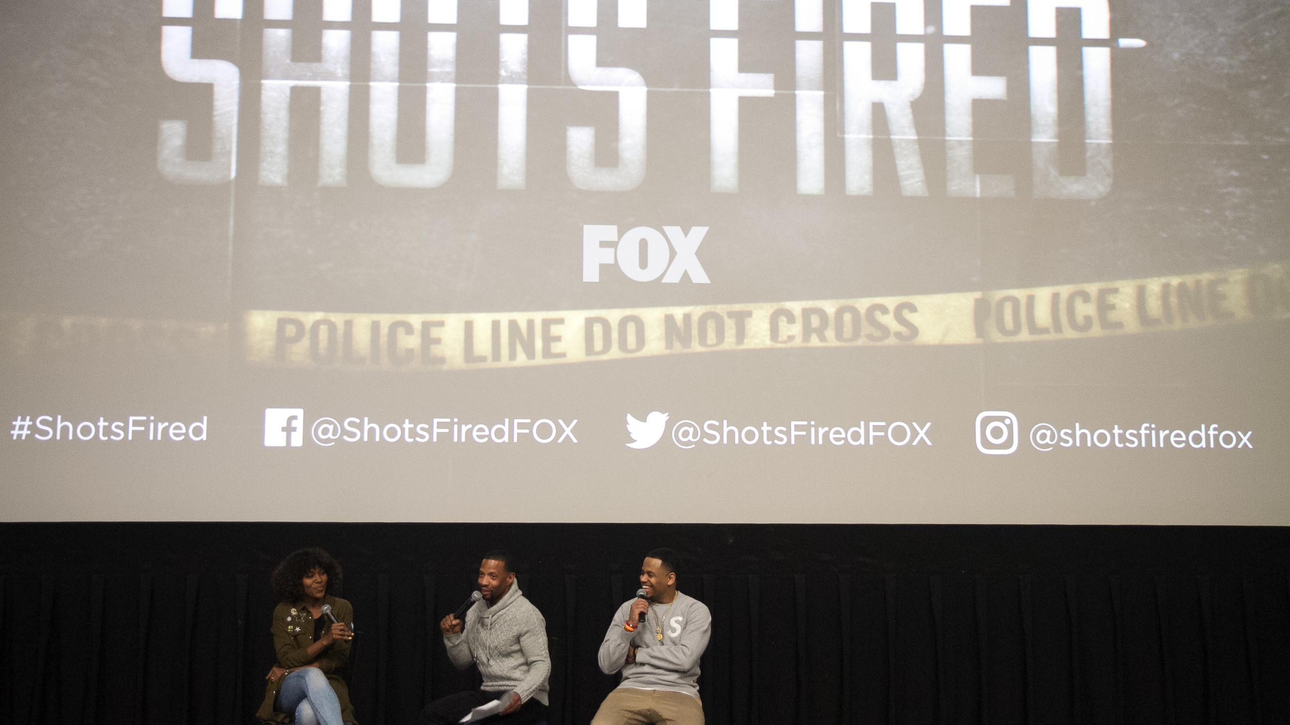 Panel Discussion with DeWanda Wise. Fly Ty and Mack Wilds