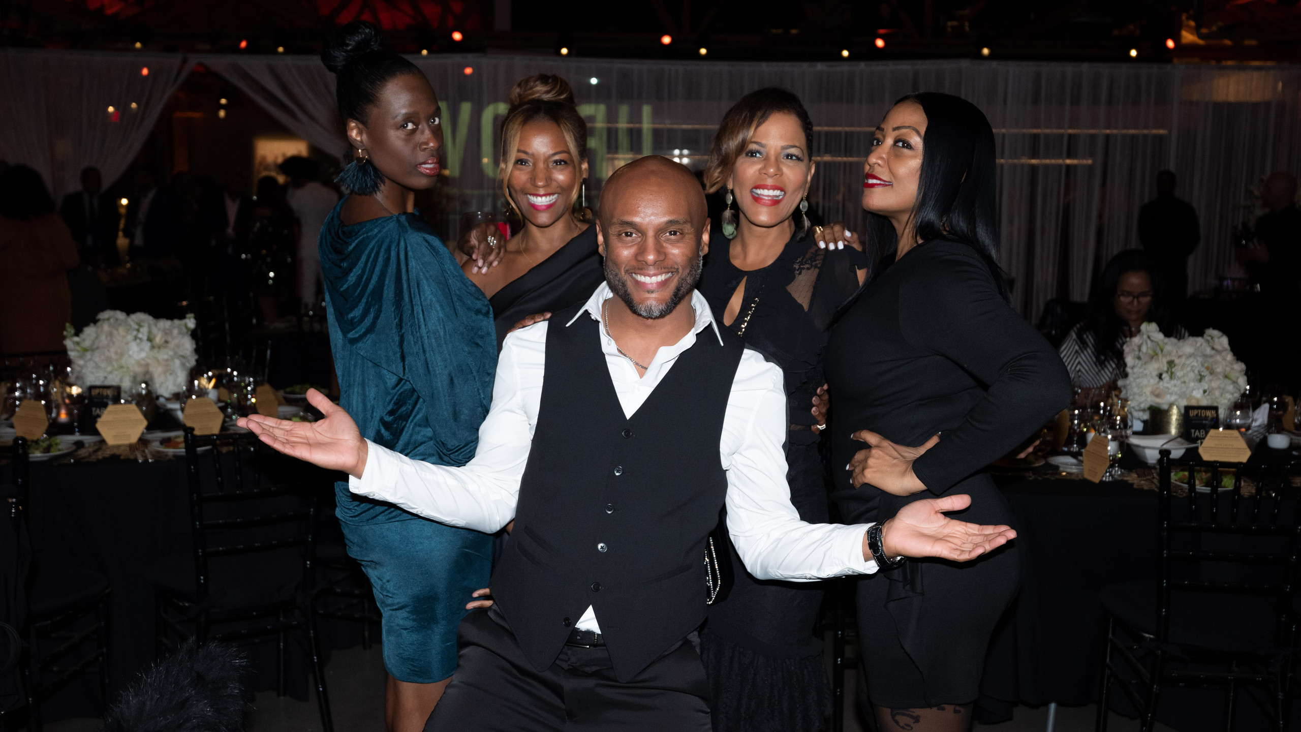 Kenny Lattimore and guests