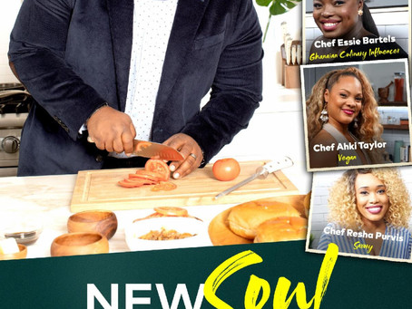 Sips and Bites Holiday Cooking Demo With Chef Jernard Wells from Cleo TV New Soul Kitchen