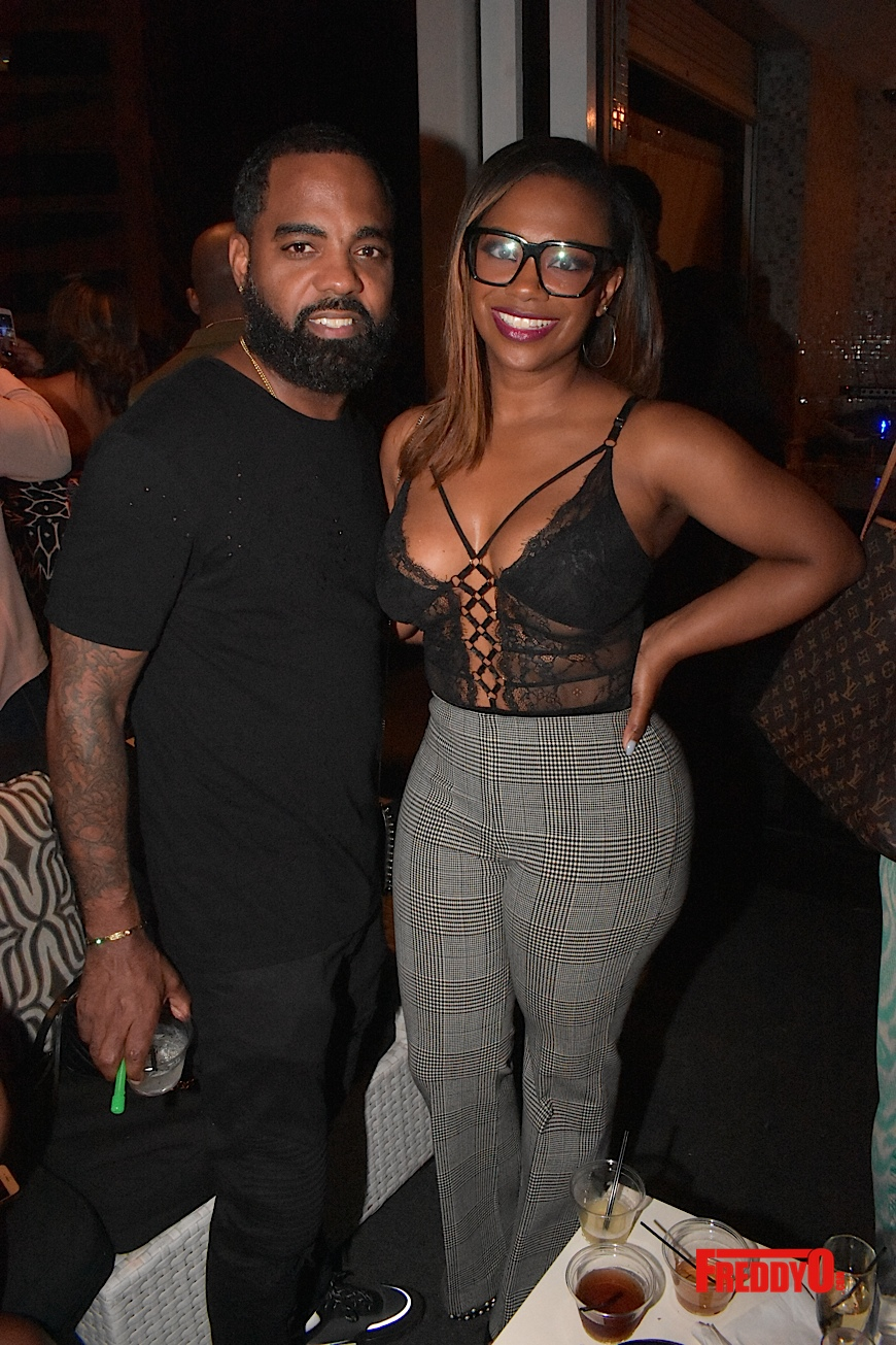 Todd Tucker and Kandi