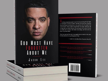 "MEDIA MOGUL JASON LEE RELEASES NEW MEMOIR: ""GOD MUST HAVE FORGOTTEN ABOUT ME"""
