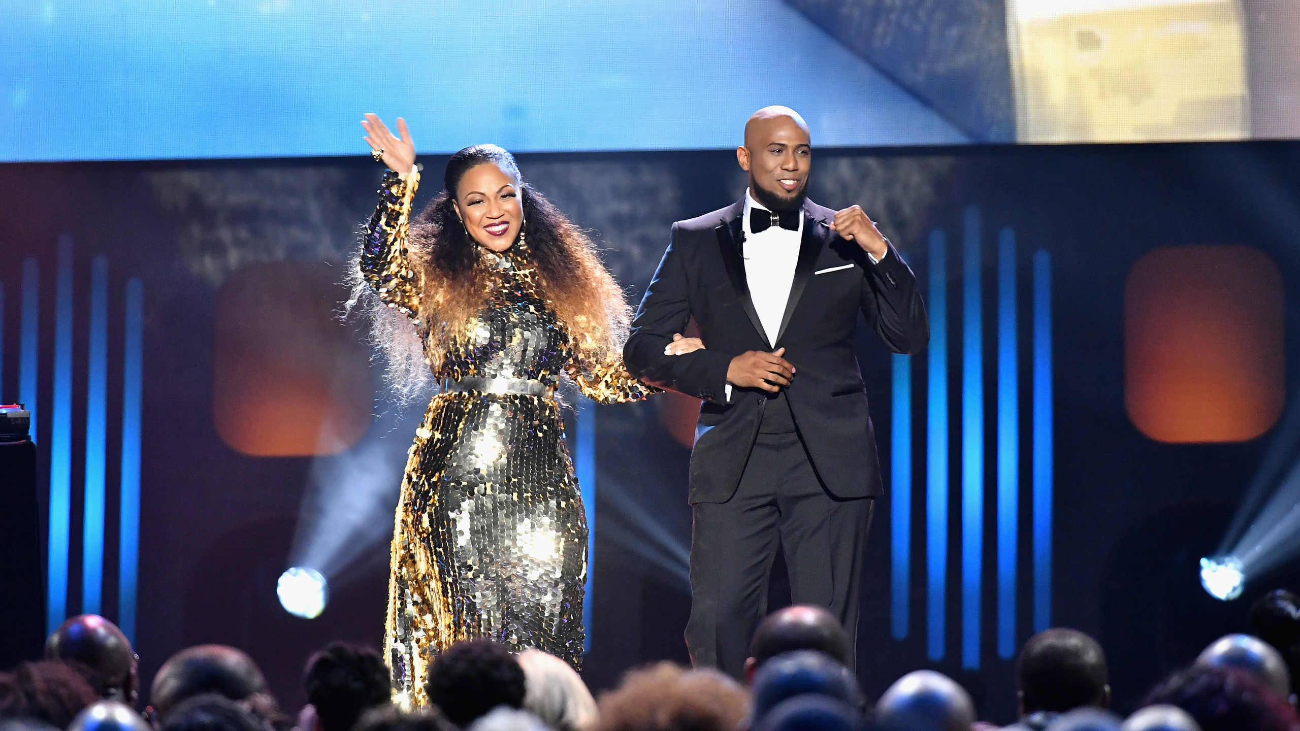 Erica Campbell and Anthony Brown opening remarks