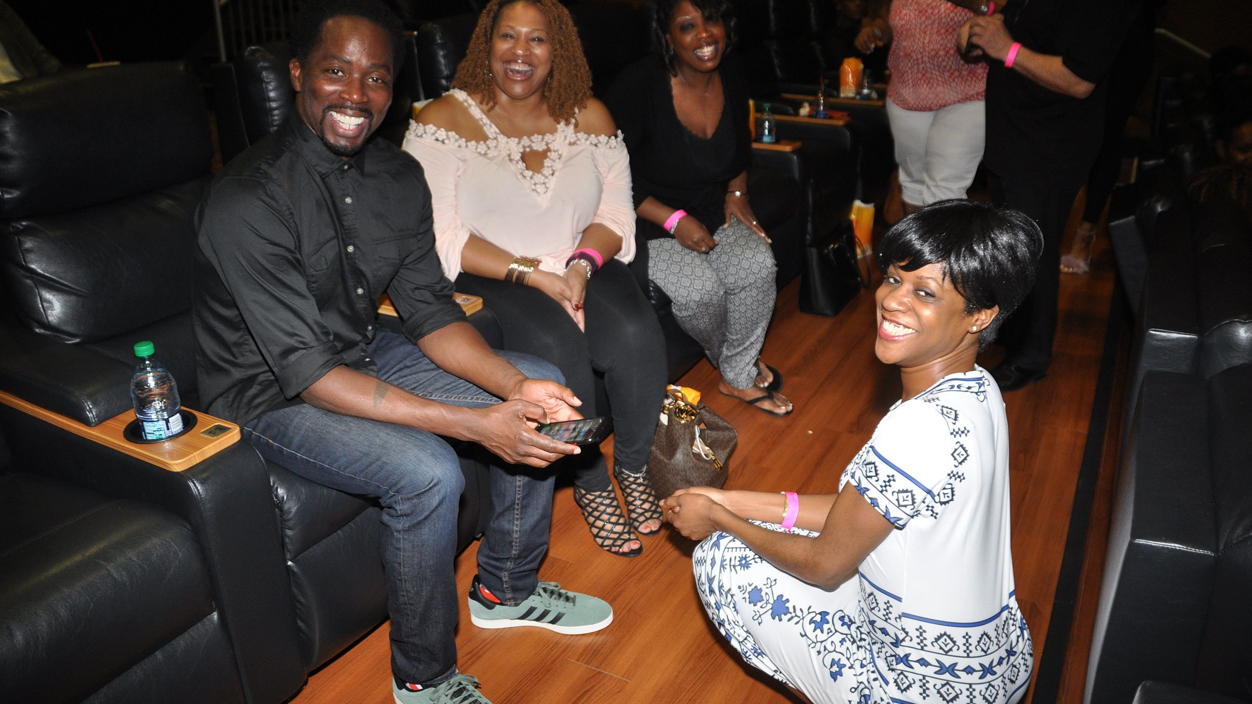 Harold Perrineau with fam and friends - ClawsDC