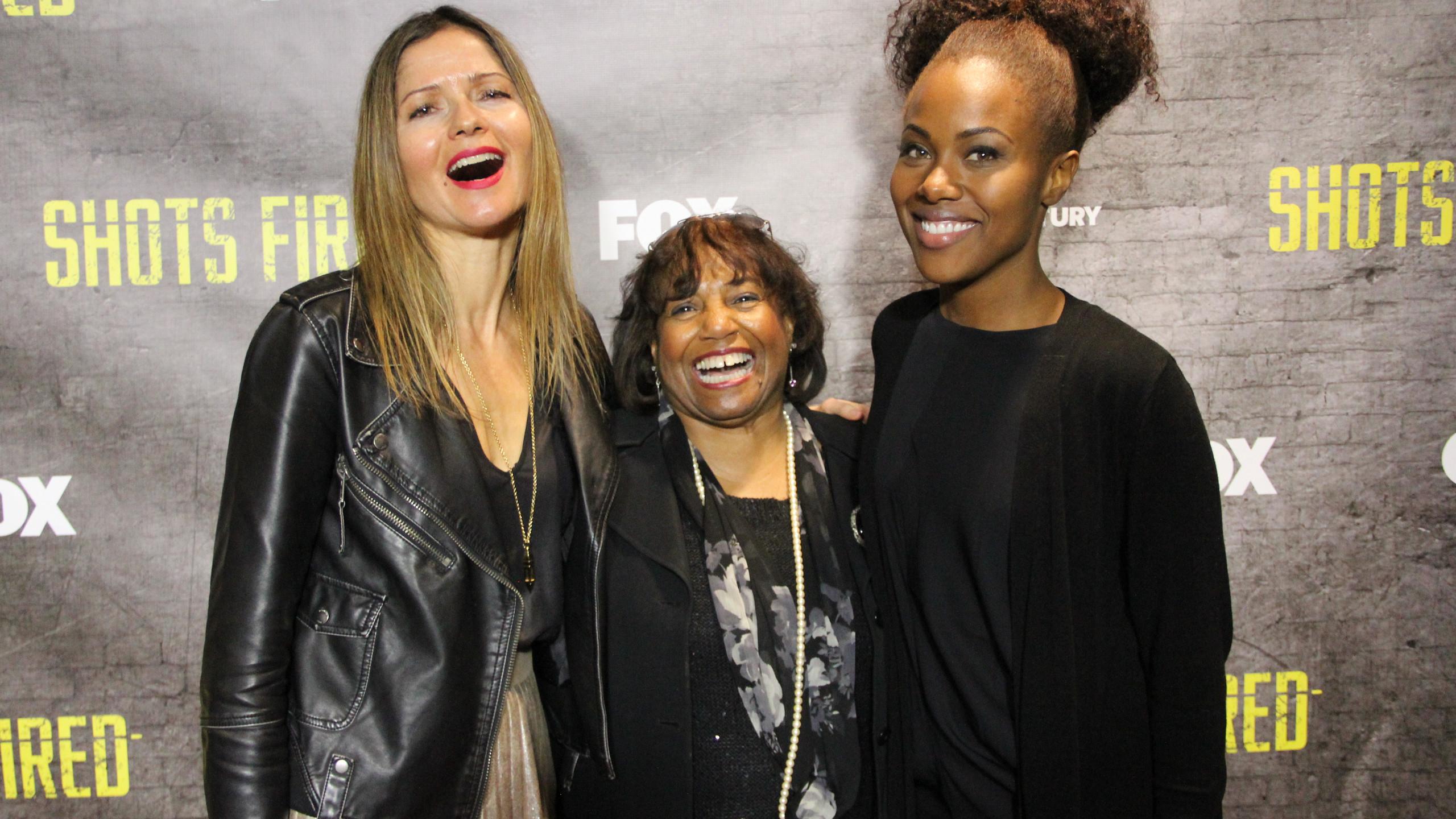 Jill with Hazel Smith and Dewanda