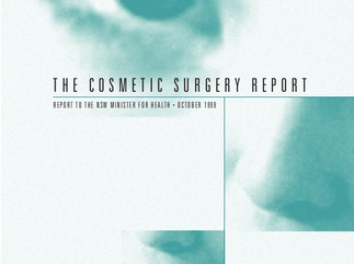 Cosmetic surgery in the news again