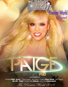 Ms. Premier World 2018 - Paige Brooks, P